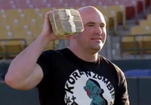 Dana White says he's won up to $5 million at blackjack table; had to carry  it in trash bags | Vigilante MMA